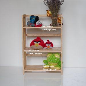Kệ sách gỗ 3 tầng rộng 70 cm