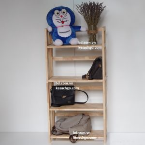 Kệ sách gỗ 4 tầng rộng 70 cm