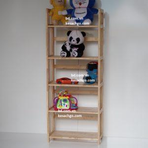 Kệ sách gỗ 5 tầng rộng 70 cm