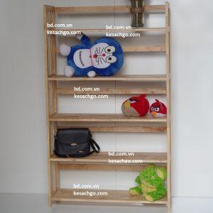 Kệ sách gỗ 5 tầng rộng 80 cm